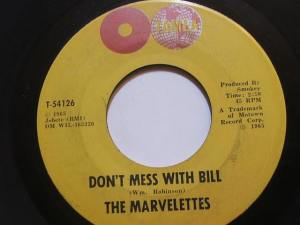 Don't Mess with Bill_The Marvelettes