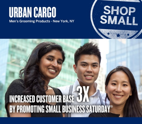 Urban Cargo_Men's Grooming Products_On-line business launch_Small Business Saturday